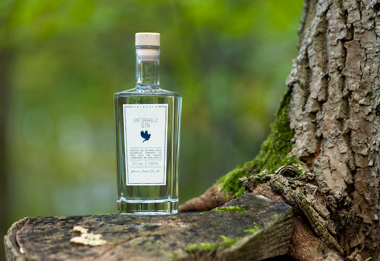Unterholz Gin aus dem Odenwald