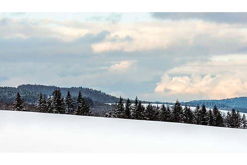 Maxi-Postkarte | Winterlandschaft