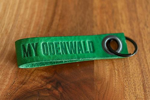 MY ODENWALD Schlüsselanhänger Waldgrün