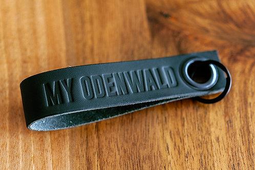 MY ODENWALD Schlüsselanhänger Schwarz