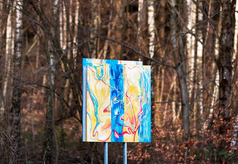 Kunstwanderweg von der Kreidacher-Höehe zur Tromm