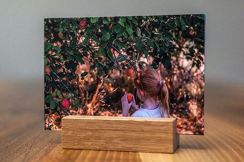 MY ODENWALD Postkarten-Set | 14 Odenwald-Postkarten mit Kartenhalter aus Holz