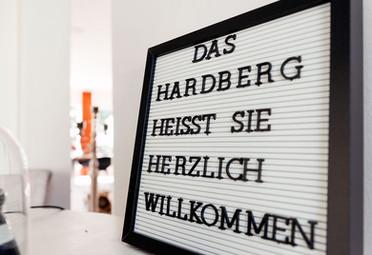 Das Hardberg – Gästehaus zum Erleben, Erholen und Genießen.