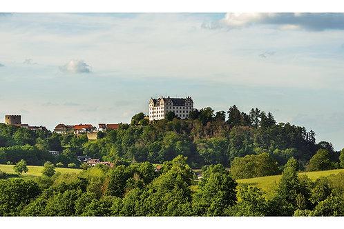 Maxi-Postkarte | Schloss Lichtenberg | Fischbachtal