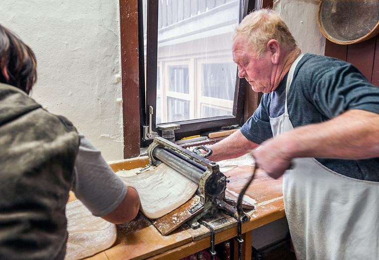 Lebkuchen Baumann – In der Weihnachtsbäckerei