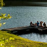 Marbach-Stausee  – Sommer, Sonne, Badespaß.