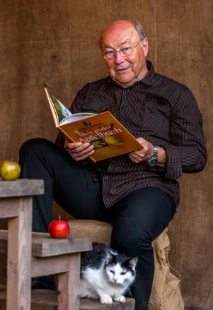 Apfel-Lesung mit Jürgen Flügge