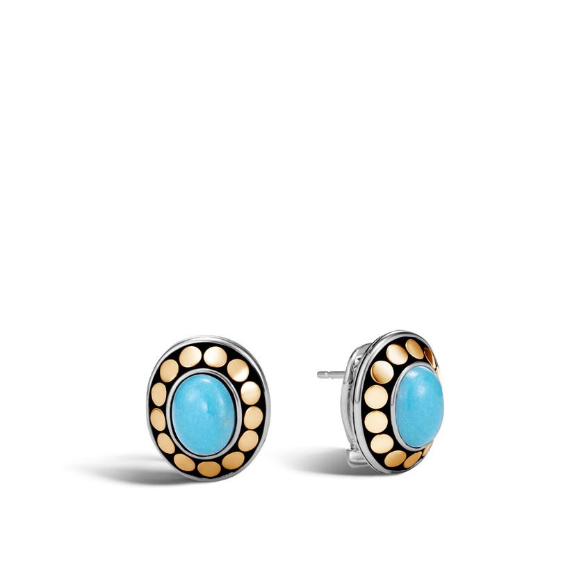 John Hardy turquoise earrings