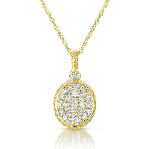 Pave Diamond Pendant