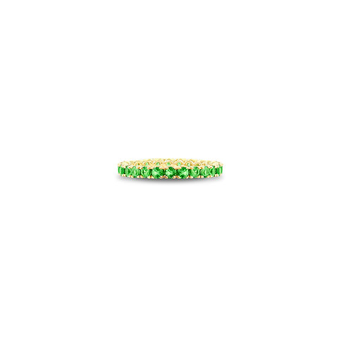 Spark tsavorite eternity band