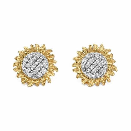 Michael Aram Diamond Stud Earrings