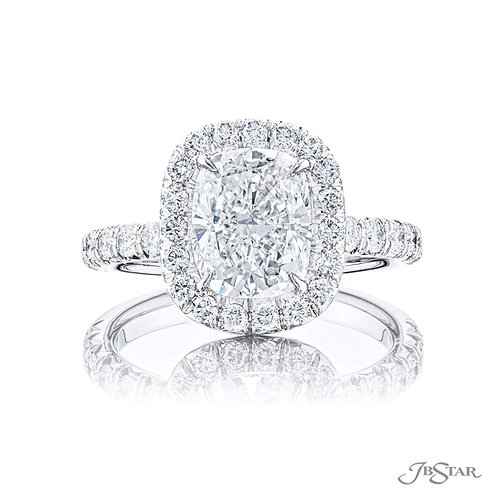 Cushion Shape Diamond Ring