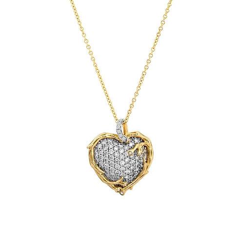 Michael Aram Diamond Heart Pendant