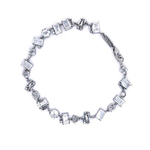 Suzanne Kalan White Topaz Bracelet