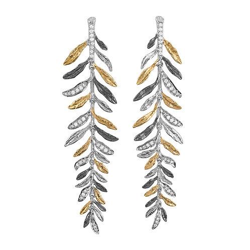 Michael Aram Diamond Chandelier Earrings