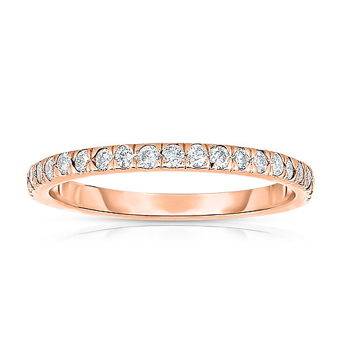 Diamond Stackable Band Ring