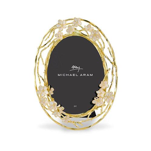 Michael Aram Cherry Blossom Oval Frame 5x7