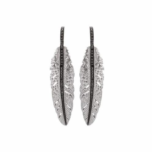 Michael Aram Black Diamond Earrings