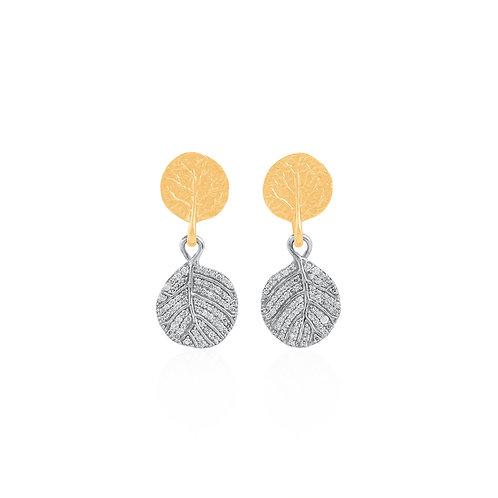 Michael Aram Botanical Leaf Earrings
