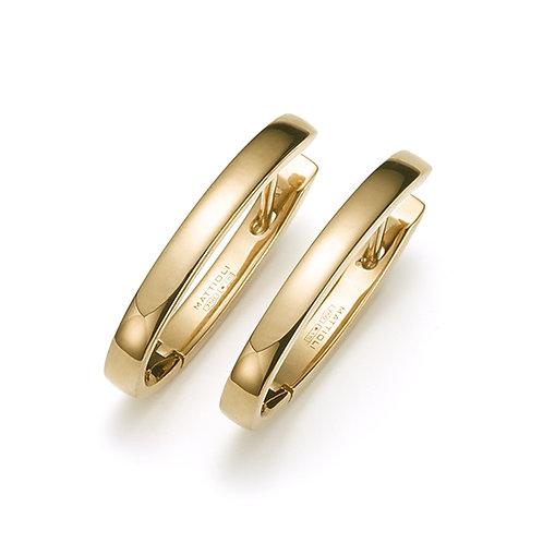 Mattioli Gold Hoop Earrings