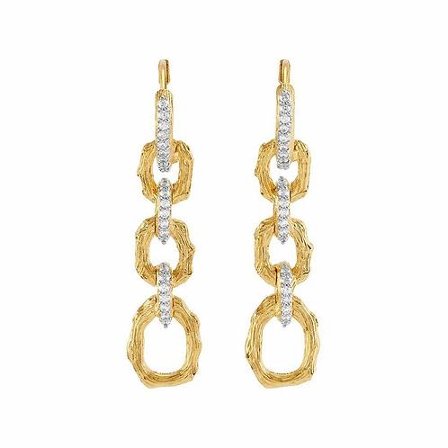Michael Aram Diamond Drop Earrings