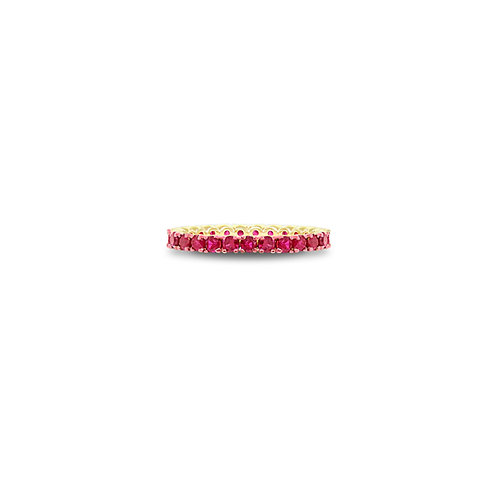 Spark ruby eternity band