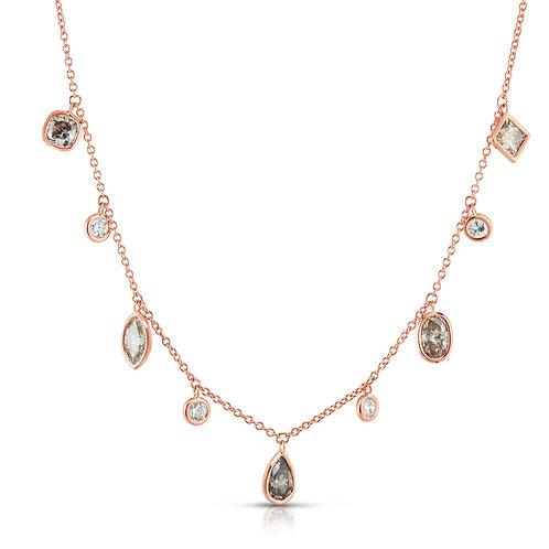 Colored Diamond Necklace