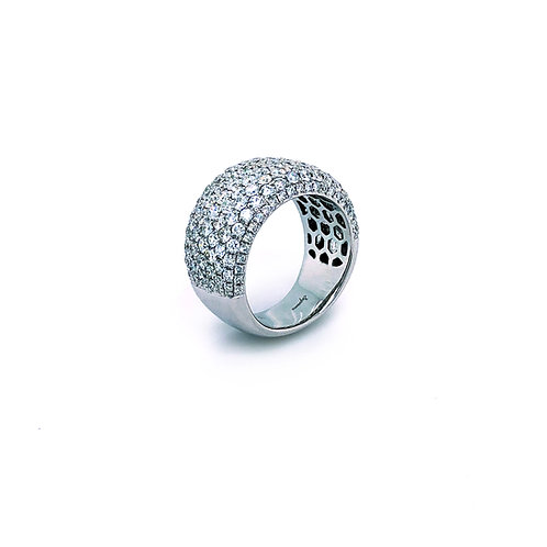 Pave Diamond Band Ring
