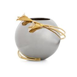 123203 Calla Lily Rose Bowl Vase