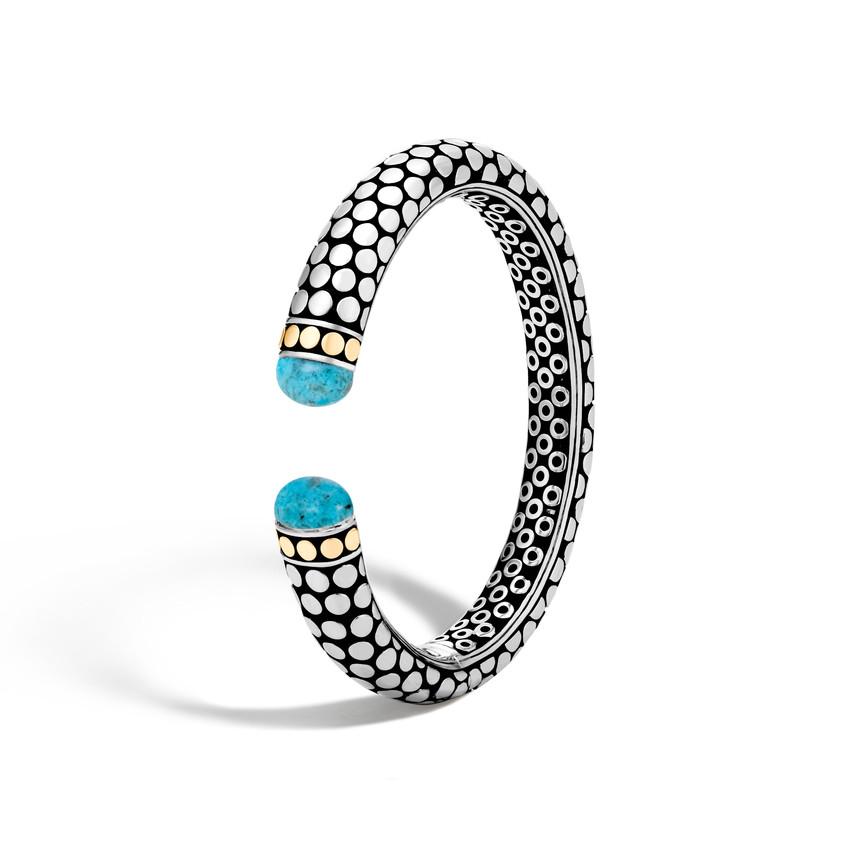 John Hardy turquoise cuff bracelet