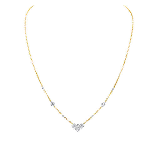 A Link Metro Diamond Necklace