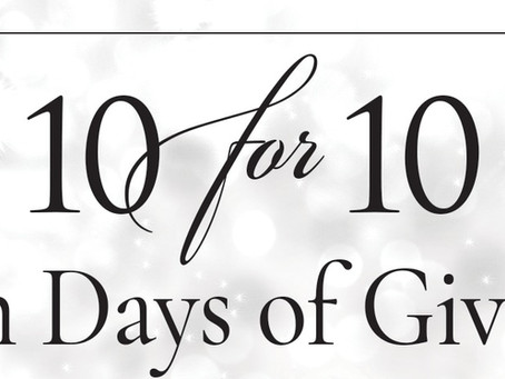 10 for 10: Ten Days of Giving