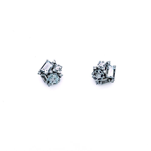 Suzanne Kalan Blue Topaz Earrings