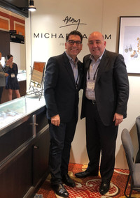 Khatchig and Michael Aram