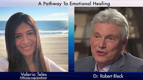 Thumbnail for Dr. Bleck on the Fit for Joy podcast with Valeria Teles