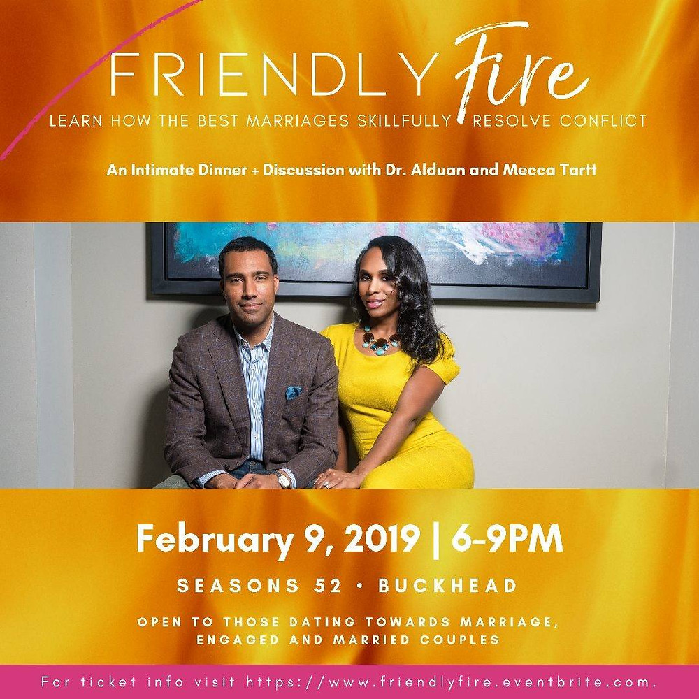 Friendly Fire: A Couples Experience for Married, Sexy and Saved Couples