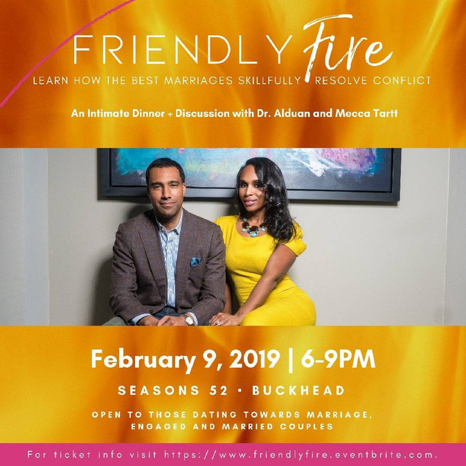 Friendly Fire: An Intimate Couples Experience For Married, Sexy and Saved Couples