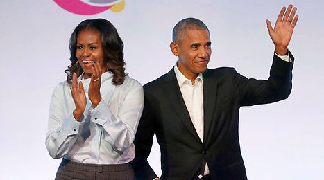 Barack and Michelle Obama Winning.jpg
