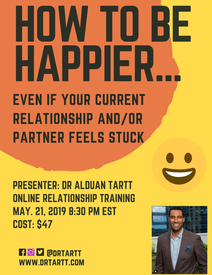 How To Be Happier Webinar
