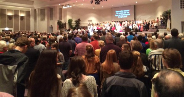 Brushy Creek Church audience