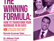 Do You Have The Winning Marriage Formula?