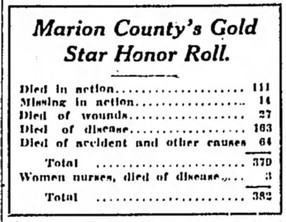 382 On County Gold Star Roll
