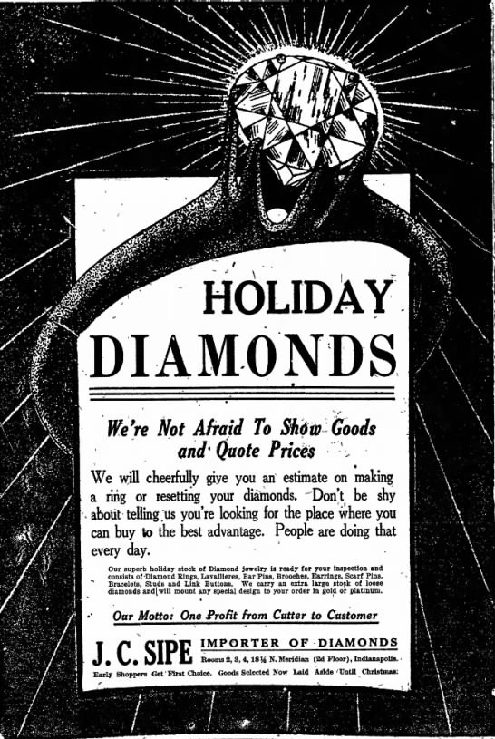 The Indianapolis Star, 8 December 1919, p. 8.