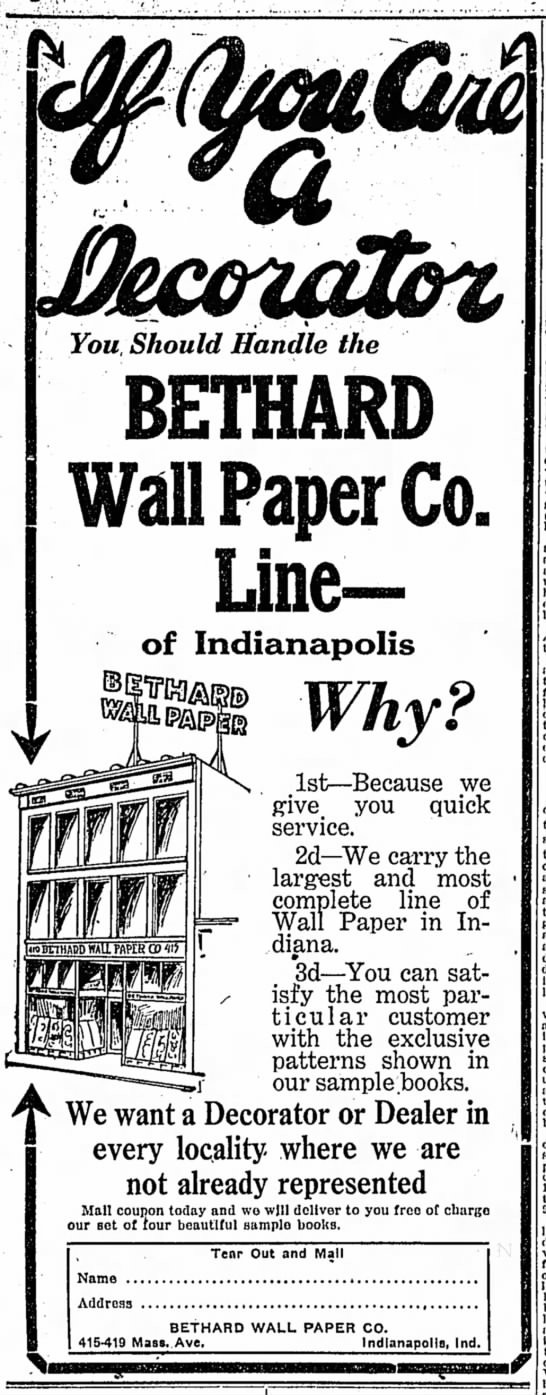 The Indianapolis Star, 12 January 1919, p. 8.