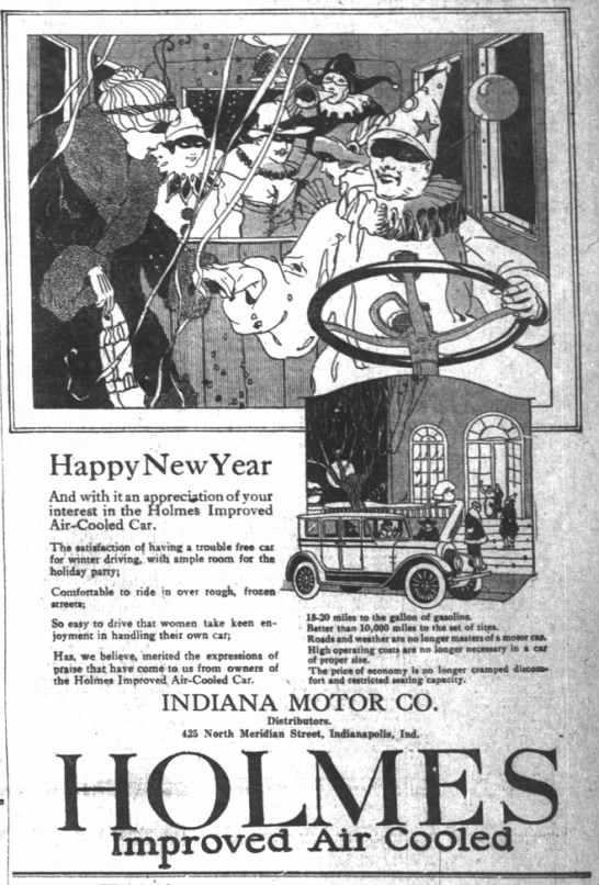 The Indianapolis News, 27 December 1919, p. 11.