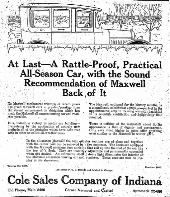 Indianapolis Star, Sunday, 2 December 1917, p. 20