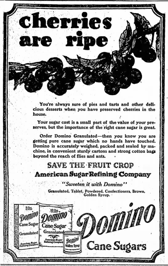 The Indianapolis Star, 27 June 1919, p. 9.