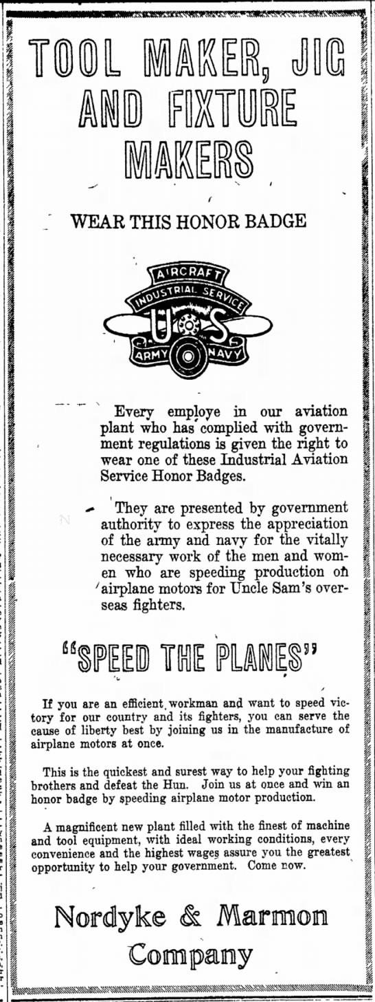 The Indianapolis Star, 30 May 1918, p. 11