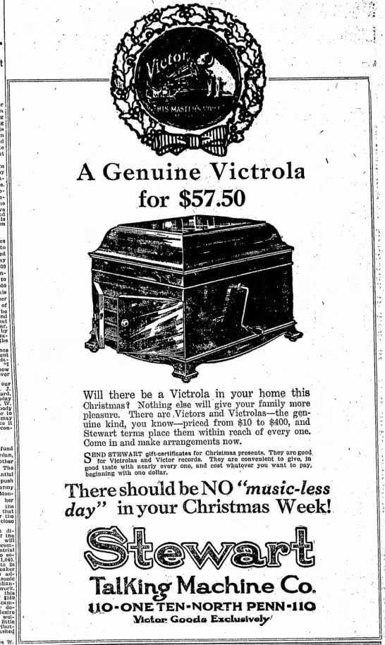 The Indianapolis Star, Sunday, 9 December 1917, p. 14.