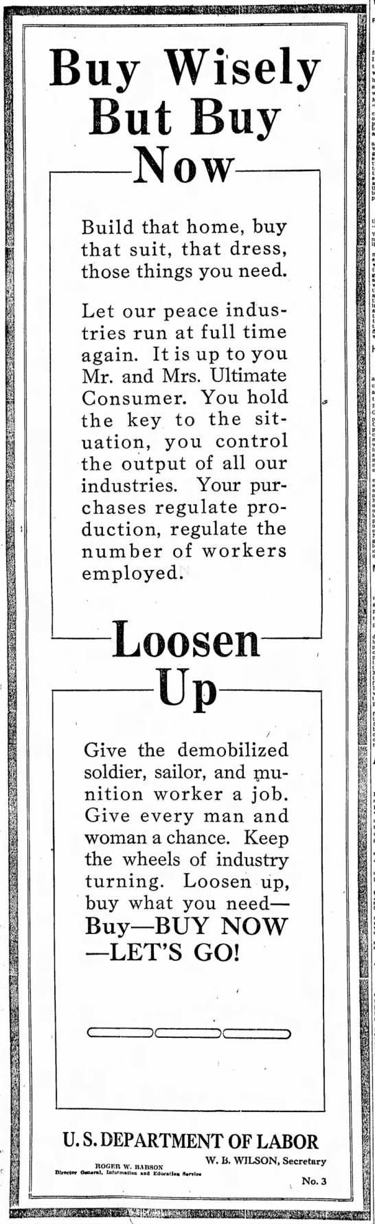 The Indianapolis Star, 16 June 1919, p. 12.